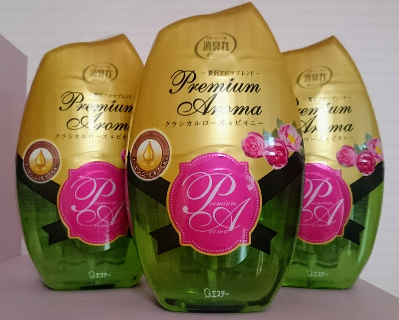 ピオニーの香り好きにはたまらない!!お部屋の消臭力 クラシカルローズ&ピオニー