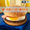 マクドナルドの「二代目 月見バーガー」を食べてみたよ☆マックの期間限定商品
